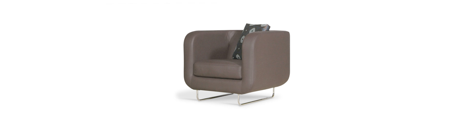 Mix cuir - Fauteuil William