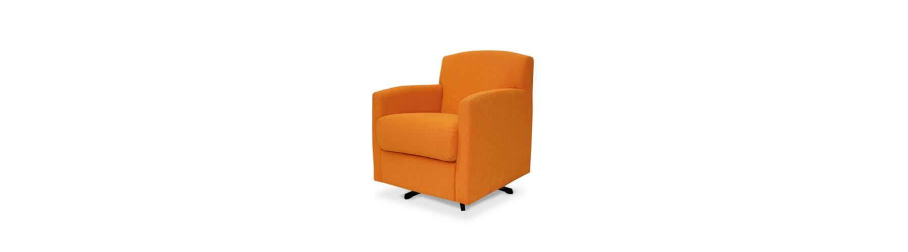 Napoleon orange - Fauteuil William