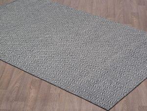 Chicago Gris et Noir - carpette tapis