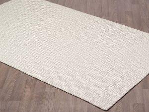 Chicago Ivoire et Gris - carpette tapis