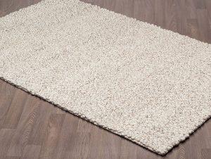 Exquisite Cailloux Ivoire - carpette tapis