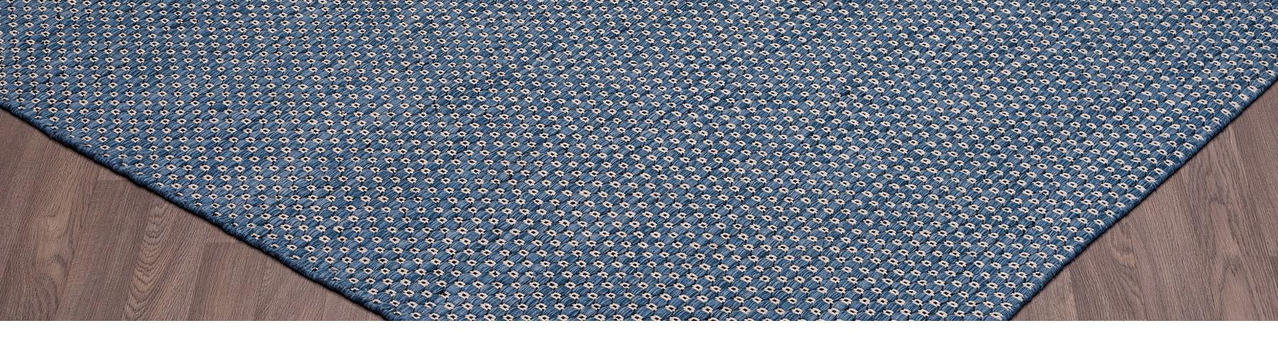Nordique Bleu - Carpette Tapis William