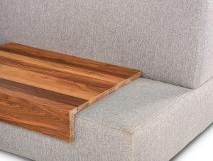 Lounge - détail - plateau